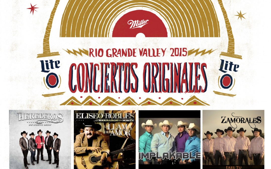 Miller Lite Conciertos Originales on July 12 2015 at the Boggus Ford Events Center